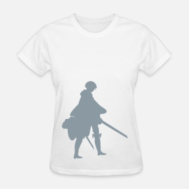 Levi Rivaille Captain Levi Shingeki no Kyojin - Women's T-Shirt