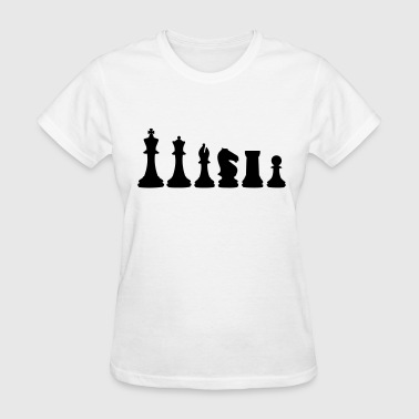 Chess, chess piece, chessman - Women's T-Shirt