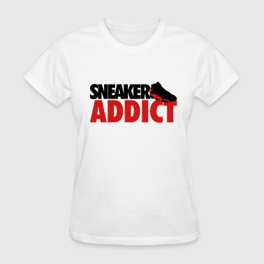 sneaker addict bred - Women's T-Shirt