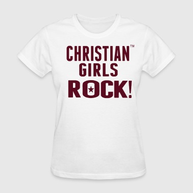 CHRISTIAN GIRLS ROCK! - Women's T-Shirt