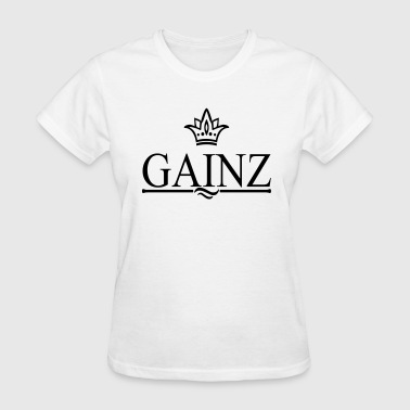gainzz - Women's T-Shirt