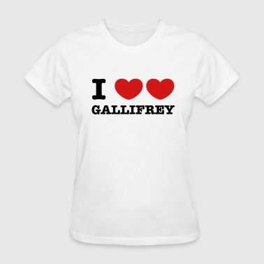 I Love Love Gallifrey - Women's T-Shirt