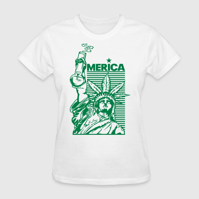 'merica (2 Color) - Women's T-Shirt