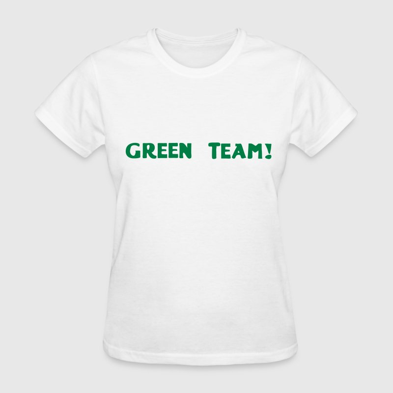 Green Team Vector - Women's T-Shirt