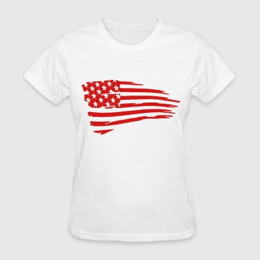 Flag War Torn - Women's T-Shirt