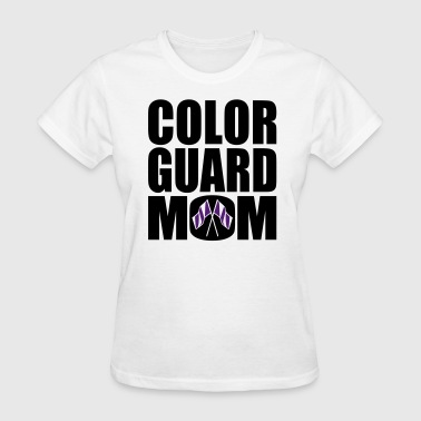 Color Guard Mom - Women's T-Shirt
