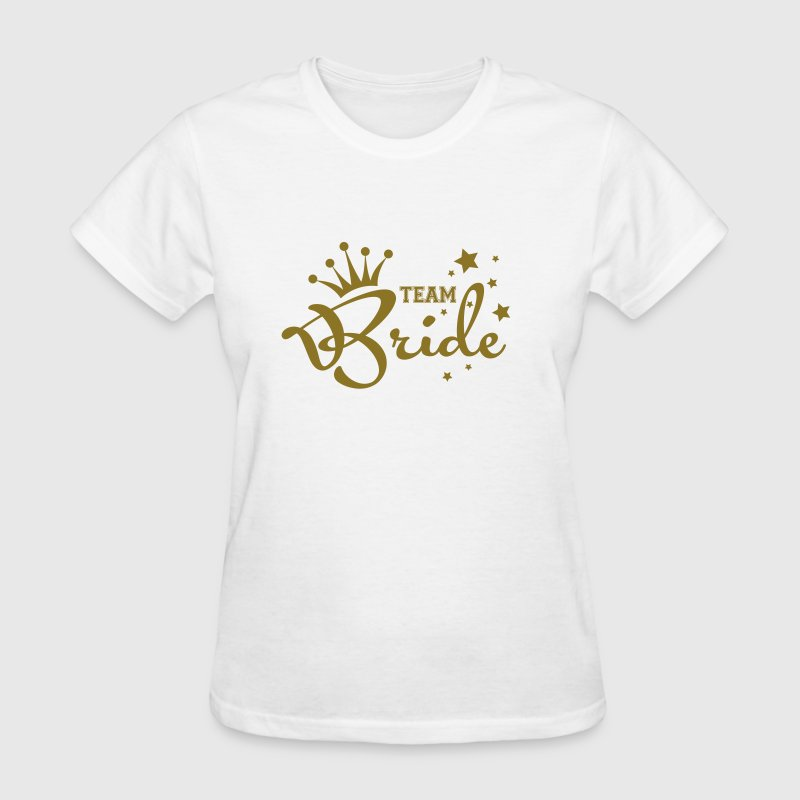 Bachelorette Party, Bride's Posse, Team Bride - Women's T-Shirt