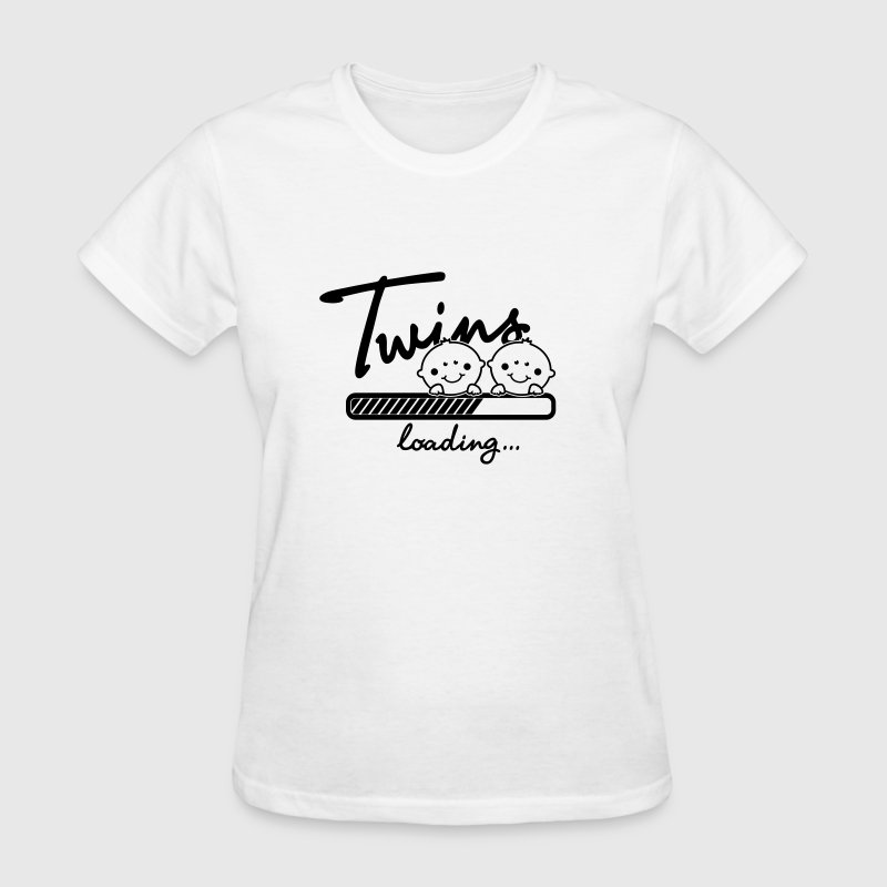 Twins loading... - Women's T-Shirt