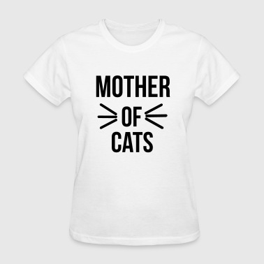 Mother of cats - Women's T-Shirt