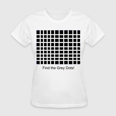 Grey dot design - Women's T-Shirt