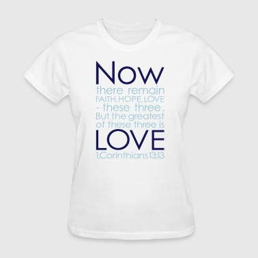 NOW LOVE - 3 Col Vector - Women's T-Shirt