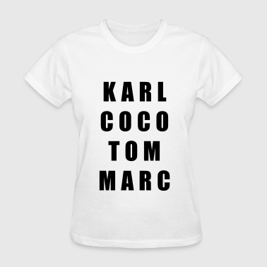 Karl coco tom marc - Women's T-Shirt