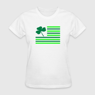 Shamrock Flag - Women's T-Shirt