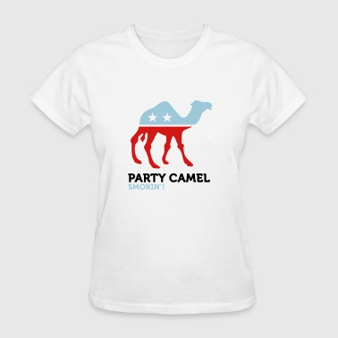 Party Animals Camel (3c) - Women's T-Shirt