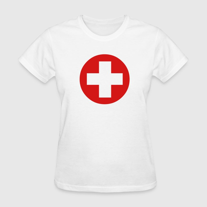 Medical Cross Symbol - Women's T-Shirt