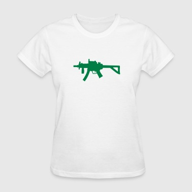 Gun - Machine Gun - Hand gun - 2nd Amendment - Women's T-Shirt