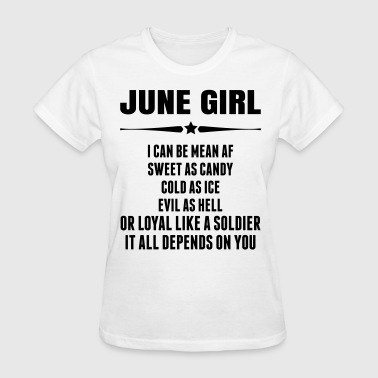 Super June Girl - Women's T-Shirt