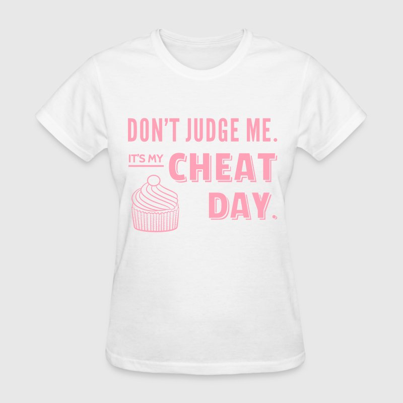 Cheat Day Cupcake Diet - Women's T-Shirt