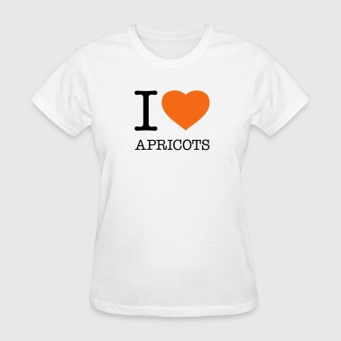 I LOVE APRICOTS - Women's T-Shirt