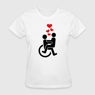 Wheelchair - Women's T-Shirt