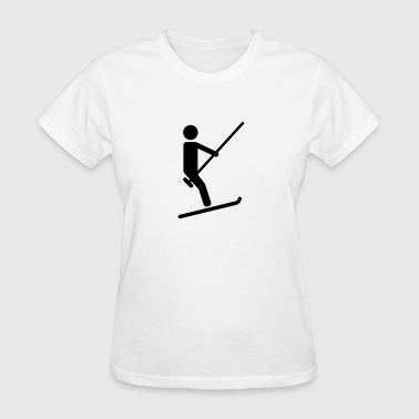 Ski lift - Women's T-Shirt