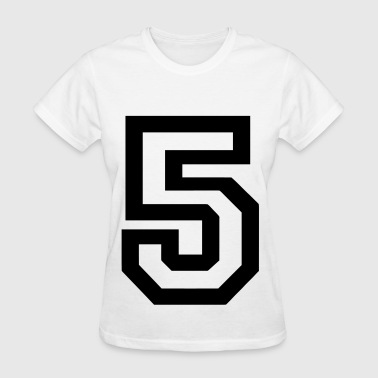 Number 5 - Women's T-Shirt