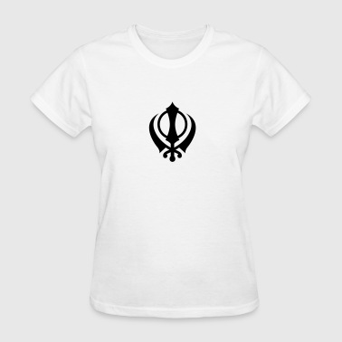 Khanda - High Quality Vector - Women's T-Shirt