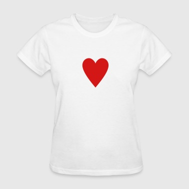 Card game-Playing Card-Hearts-Rummy-Canasta-Poker - Women's T-Shirt