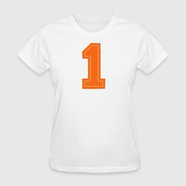 Number One Patch - Women's T-Shirt