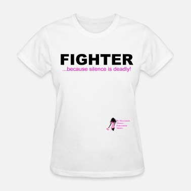 Violence Domestic Violence Fighter - Women's T-Shirt