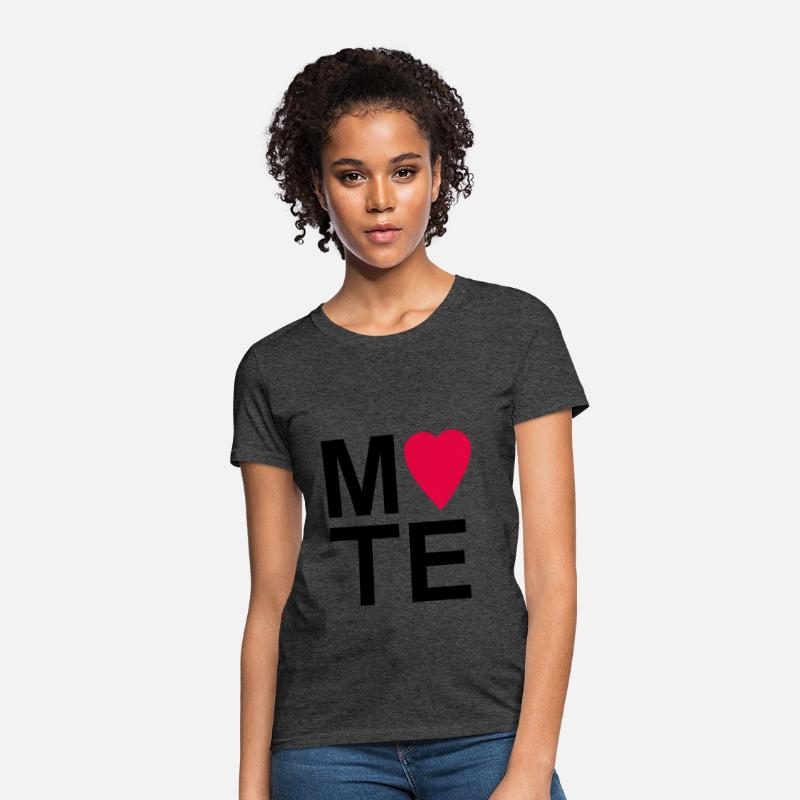 35ce124f79 Soulmate MATE Red Couple Shirt Women's T-Shirt | Spreadshirt