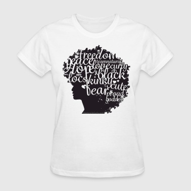 Afro Text II - Women's T-Shirt