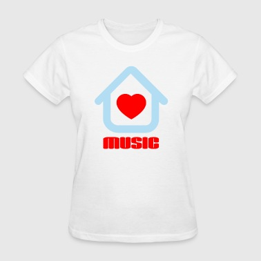 Love House Music - Women's T-Shirt