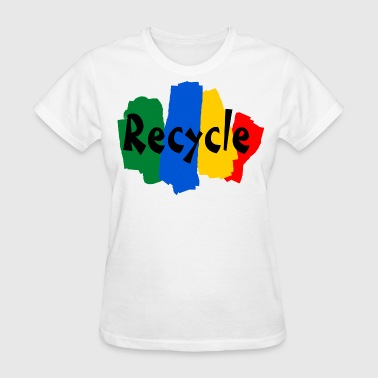recycle - Women's T-Shirt