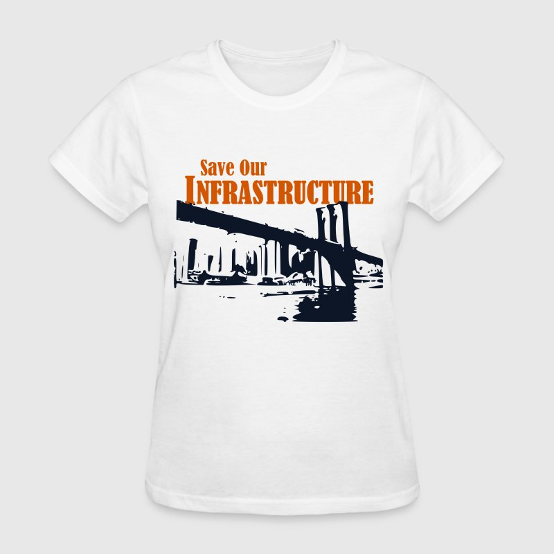 Save Our Infrastructure | NY - Women's T-Shirt