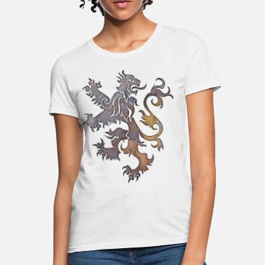Heraldry Heraldry Lion Textured - Women's T-Shirt