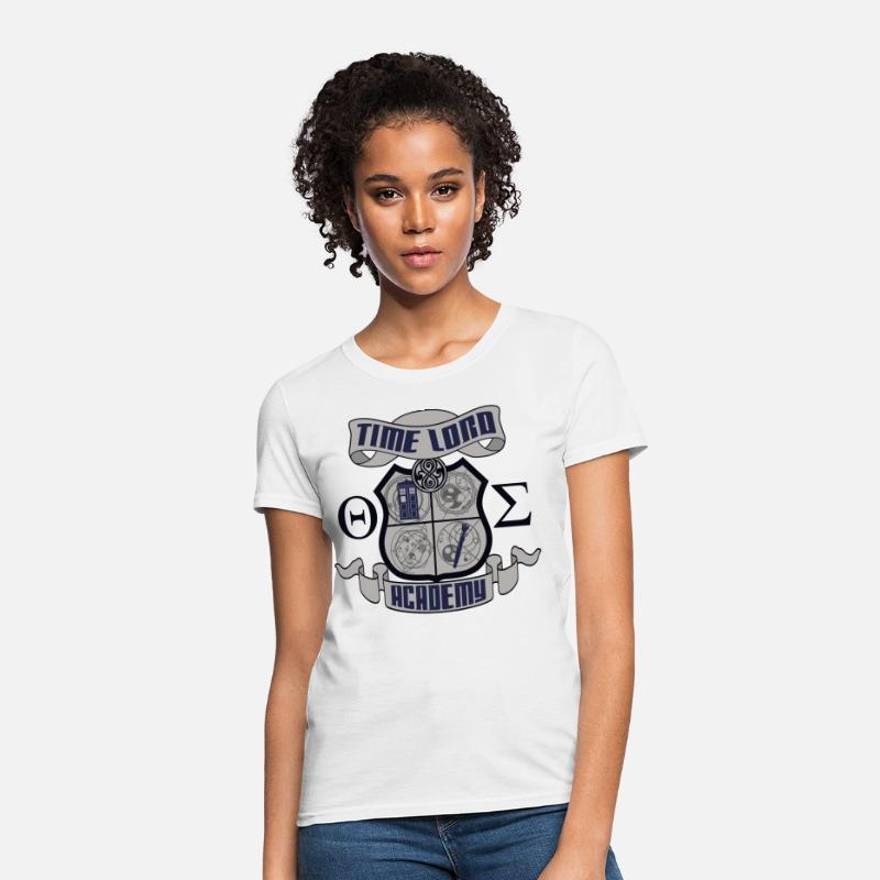 Time Lord Crest Women's T-Shirt - white