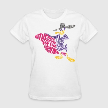 Darkwing Duck Typography - Women's T-Shirt