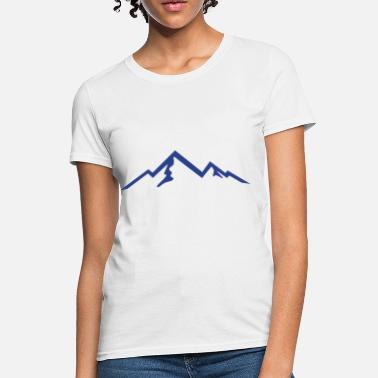 Hike Mountains Mountain, Mountains, Hiking - Women's T-Shirt