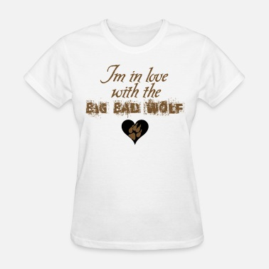 Jacob Black I'm in love with the Big Bad Wolf - Women's T-Shirt