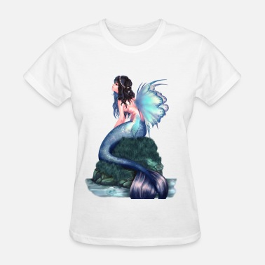 Lets Be Mermaids mermaid - Women's T-Shirt