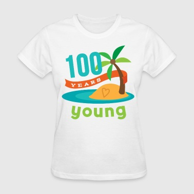 100th Birthday 100th Birthday hawaiian - Women's T-Shirt