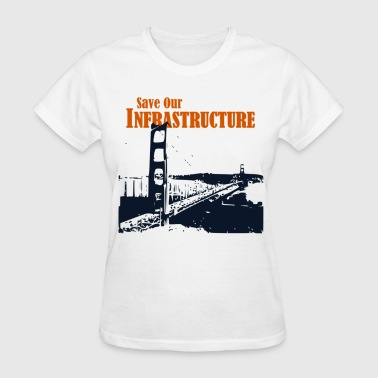 Save Our Infrastructure SF - Women's T-Shirt