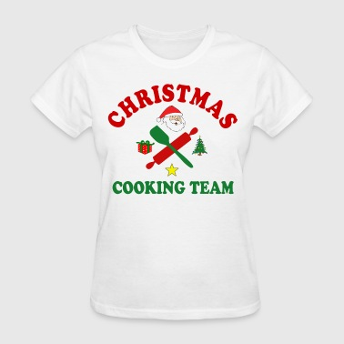 Cooking Christmas Christmas Cooking Team - Women's T-Shirt