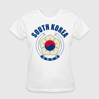 south korea coat of arms - Women's T-Shirt