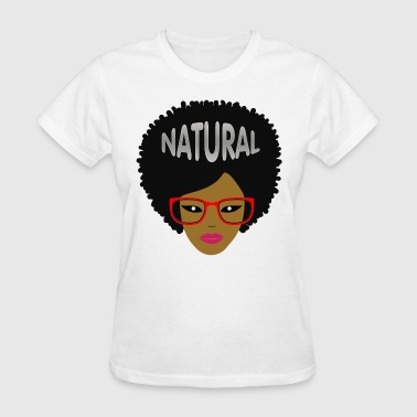 Afro (Red Glasses) - Women's T-Shirt