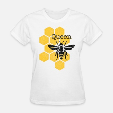 Queen Bee Honeycomb Queen Bee - Women's T-Shirt
