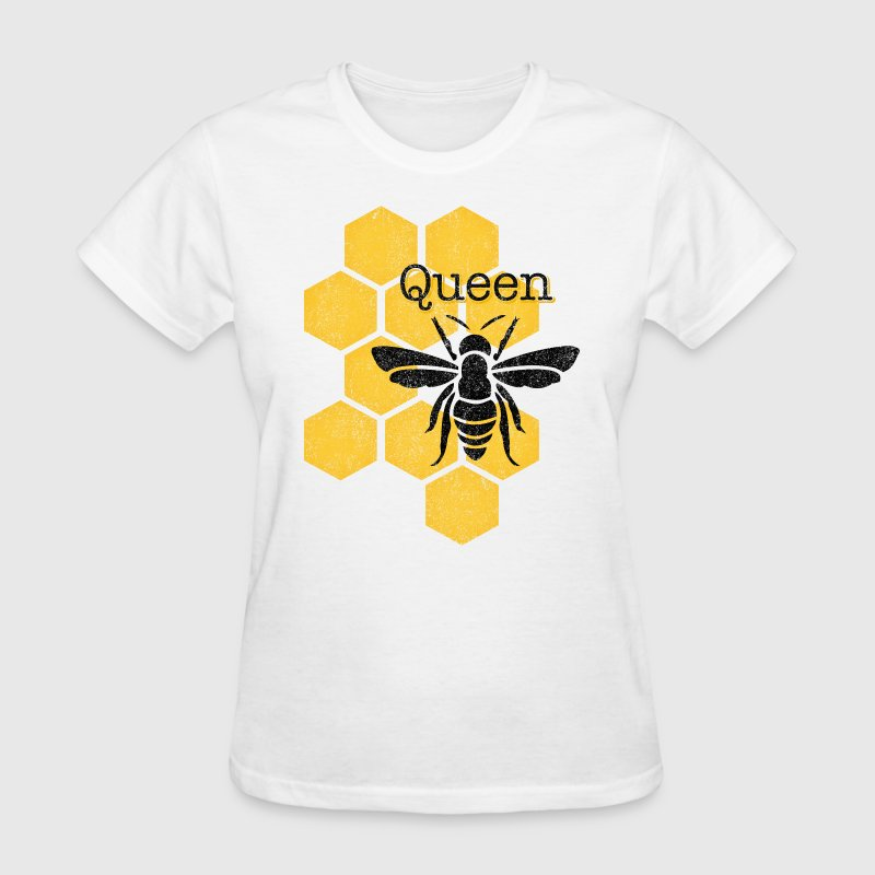 Honeycomb Queen Bee - Women's T-Shirt