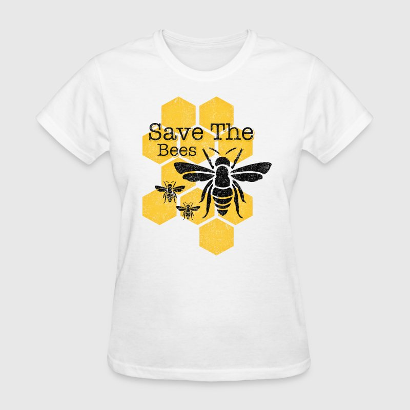 Honeycomb Save The Bees - Women's T-Shirt