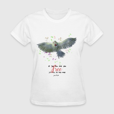 Set Free John 8 John 8:36 - Freedom - Women's T-Shirt